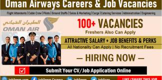 Oman Airways Careers and Employment, Apply for Cabin Crew, Flight Attendant Job Vacancies