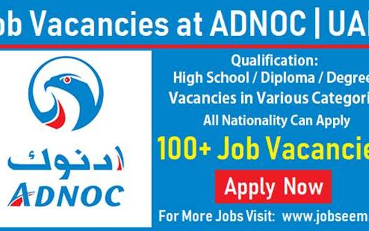 ADNOC Careers and Job Vacancies