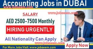 Accountant Jobs in Dubai with Salaries 500+ Job Vacancy 2018