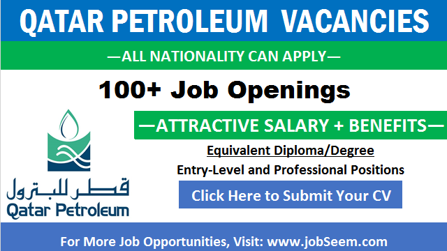 Qatar Petroleum Careers QP Oil and Gas Jobs in Qatar