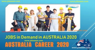 Jobs in Demand in Australia 2020