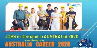 Jobs in Demand in Australia 2020