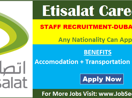 Etisalat Careers Vacancy Opening Dubai UAE Urgent Job Recruitment 2020