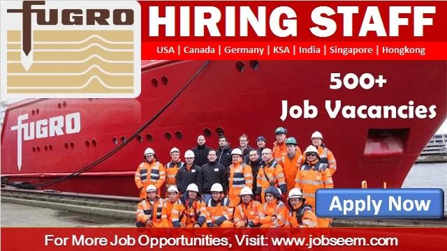 Fugro Careers and Job Opportunities Staff Recruitment Fugro Employment
