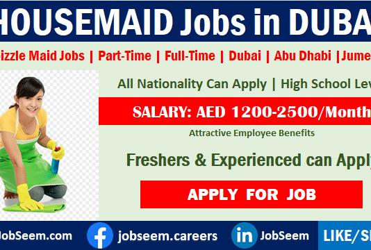 Housemaid Jobs in Dubai Part Time Maid Job Vacancy Openings Dubizzle