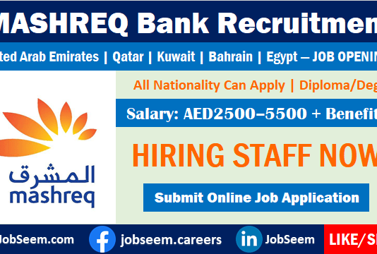 Mashreq Bank Careers Openings Exciting Job Vacancies and Employment Opportunities