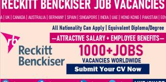 Reckitt Benckiser Careers Recruitment RB New Job Vacancy Openings