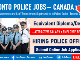 Toronto Police Jobs in Canada 2020 How to Become a Police Officer