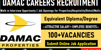 Damac Careers Opening Urgent Damac Properties Jobs and Recruitment