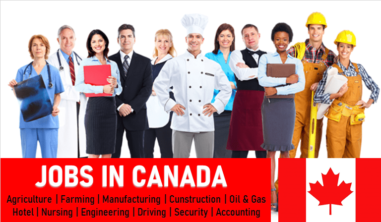Exciting Jobs in Canada for Foreigners | 1000+ Vacancies 2021