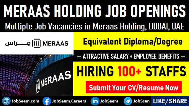 Latest Meraas Holding Careers and Job Vacancy Openings