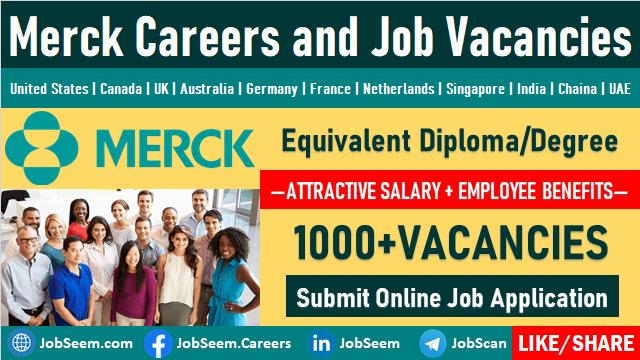 Merck Job Openings and Staff Recruitment Merck KGAA Careers Vacancy