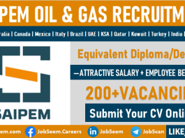 Saipem Jobs and Careers Opening Offshore and Onshore Recruitment Opportunities