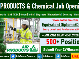 Air Products and Chemicals Careers Latest Job Vacancies and Staff Recruitment