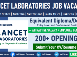 Lancet Vacancies Recruitment Lancet Laboratories Careers and Job Openings