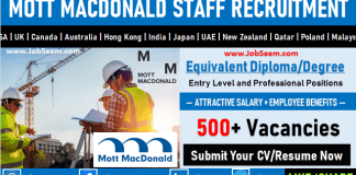 Mott Macdonald Careers Recruitment and Job Openings Latest Vacancies