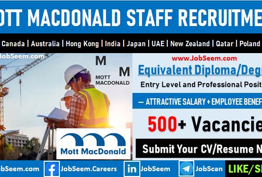 Mott Macdonald Careers Recruitment and Job Openings Latest Vacancies
