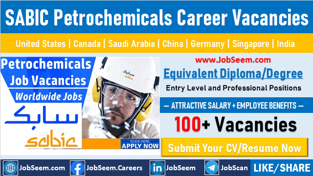 SABIC Petrochemicals Jobs and Careers Recruitment Latest Worldwide Job Openings