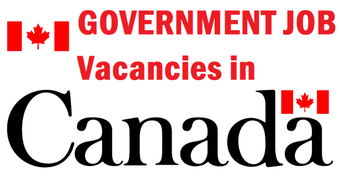 Government Job Vacancies in Canada (GC) Apply for Province Level Gov Careers in Canada