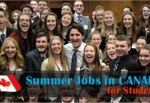 Best Summer Jobs in Canada for Students and Foreigners