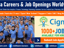 Cigna Careers and Employment, Healthcare Jobs Opening, Staff Recruitment and Internship