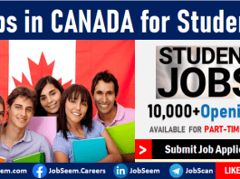 Jobs in Canada for Students- Summer Jobs, Part-Time Jobs and Internship Career Opportunities