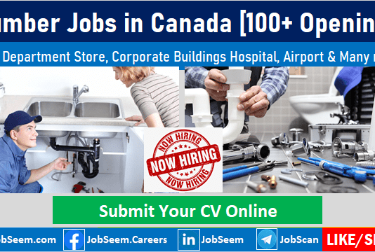 Plumber Jobs in Canada for Foreigners Submit Job Application for Plumber Vacancies