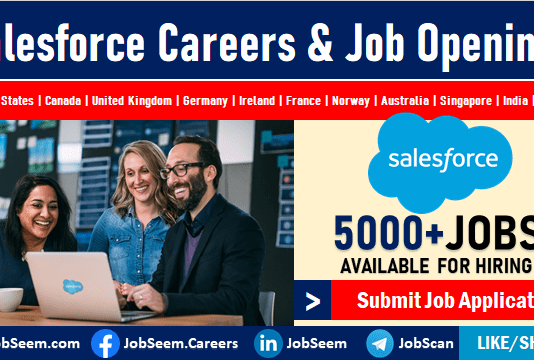 Salesforce Careers, Jobs, Vacancies, and Employment Latest Job Vacancies and Openings