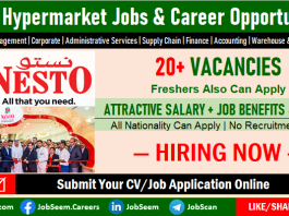 Nesto Hypermarket Jobs and Recruitment, Submit Job Application Online for Nesto Career Vacancy Openings