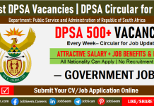 DPSA Vacancies Weekly Update, Latest DPSA Circular for Jobs and Career Openings This Week
