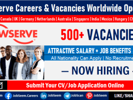 Flowserve Careers, Employment, and Job Openings for Freshers, Experienced and Veterans
