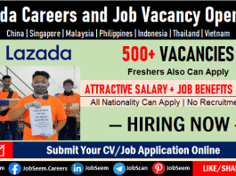 Lazada Careers, Jobs Opening, Employment and Recruitment, Hiring Staff Urgently in Latest Job Vacancies