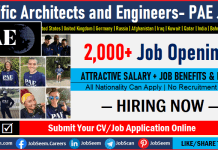 PAE Careers Opening, Recruitment, Pacific Architects and Engineers Jobs and Military Vacancies