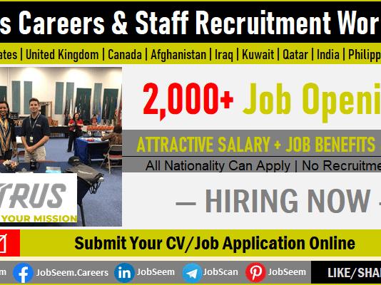 Vectrus Careers and Job Openings, LOGCAP V Employment Opportunities Worldwide