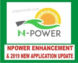 Npower Enhancement Programme - New Npower application 2019 and More