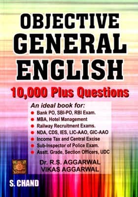 objective general english by rs aggarwal