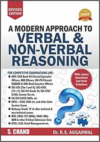 rs aggarwal verbal and non verbal reasoning