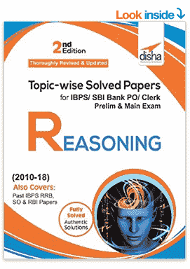 Reasoning Book For Bank Po