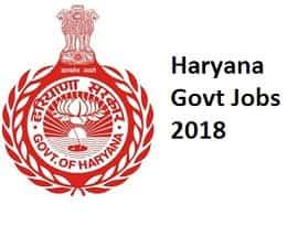 haryana govt jobs in haryana