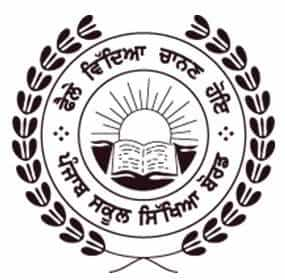 pseb punjab school educatin board logo