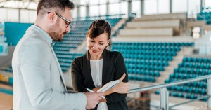 event planning is one of the best entry level sports jobs to consider
