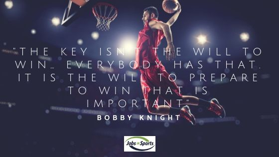 bobby knight sports quotes motivational