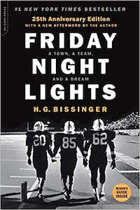 motivational sports books friday night lights h.g. bissinger