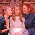 (L-R) Katrina Stevenson, Allison Burns and Emilia Sargent in Jobsite's Boston Marriage. (Photo by Brian Smallheer.)