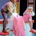(L-R) Roz Potenza and Katrina Stevenson in Jobsite's The Mineola Twins. (Photo by Brian Smallheer.)