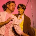 David M. Jenkins and Tatiana Baccari in Jobsite's Cloud Nine. (Photo courtesy Pritchard Photography.)