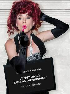 Amy E. Gray in Jobsite's The Threepenny Opera.