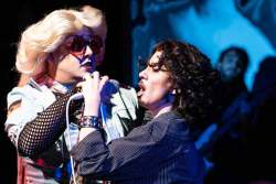 Spencer Meyers and Amy Gray in Jobsite's Hedwig and the Angry Inch. (Photo courtesy Pritchard Photography.)