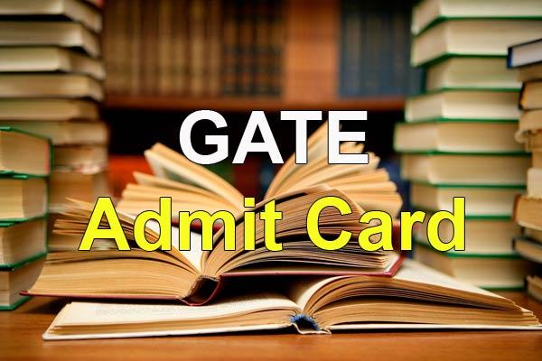 GATE Admit Card Download
