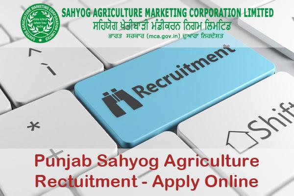 Punjab Sahyog Agriculture Recruitment at www.skmnlp.org
